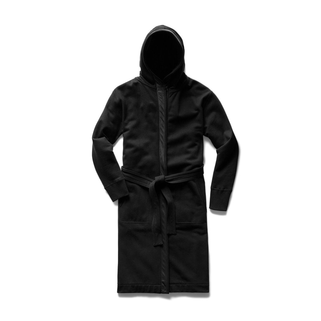 Reigning Champ -  Fight Night Hooded Robe  - Black - Midweight Terry - Guys