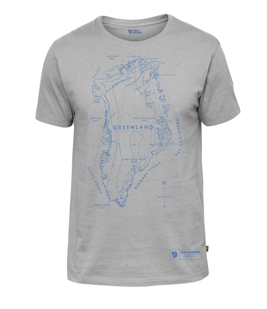 Fjallraven - Greenland Printed T-Shirt - Guys