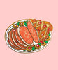 Holiday Ham - Lapel Pin
