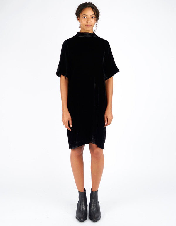 Just Female - Ware Velour Dress