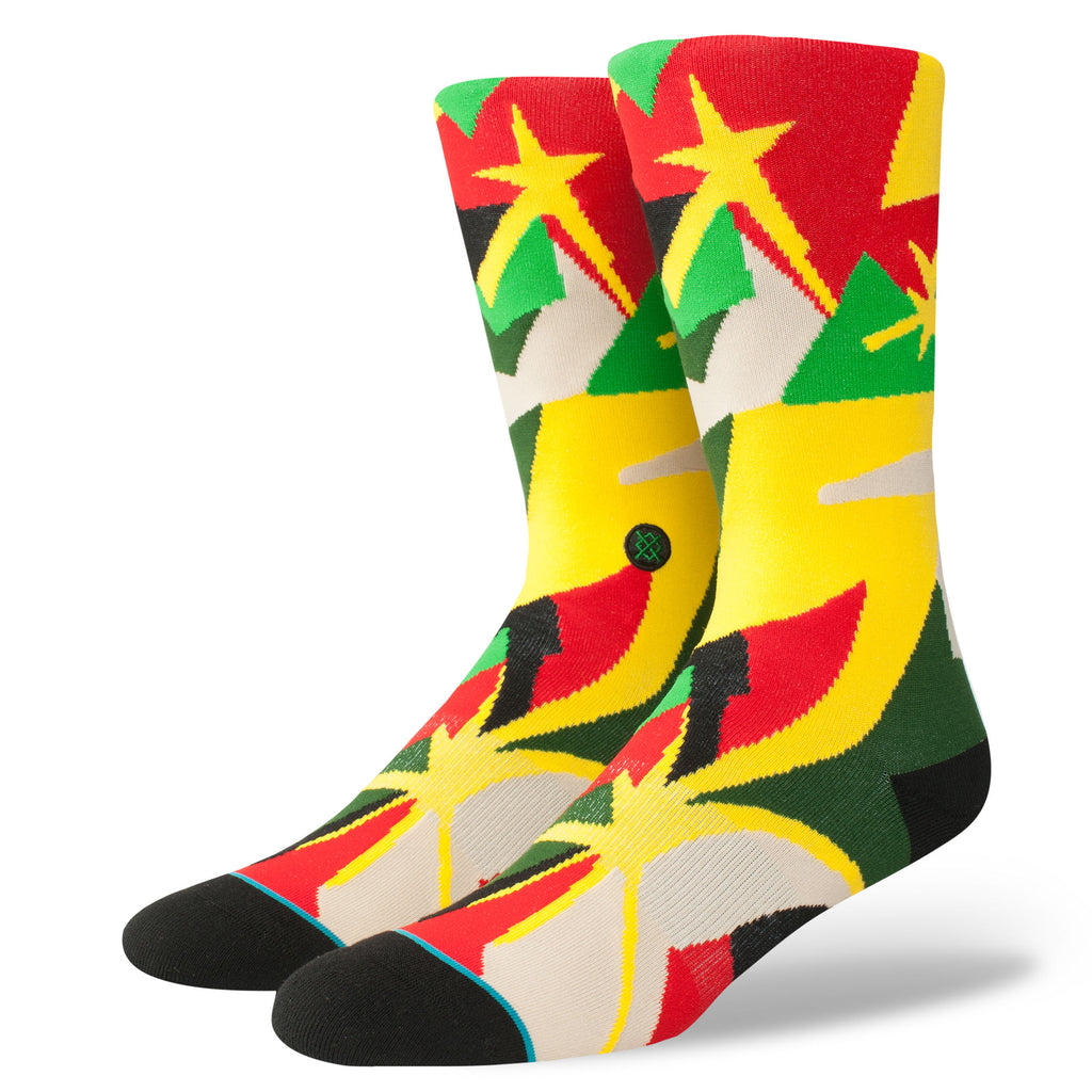 Stance - Classic Crew - Bad Brains - Regulator Green - Socks