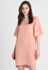 Minimum - Erla Dress - Dusty Pink - Gals