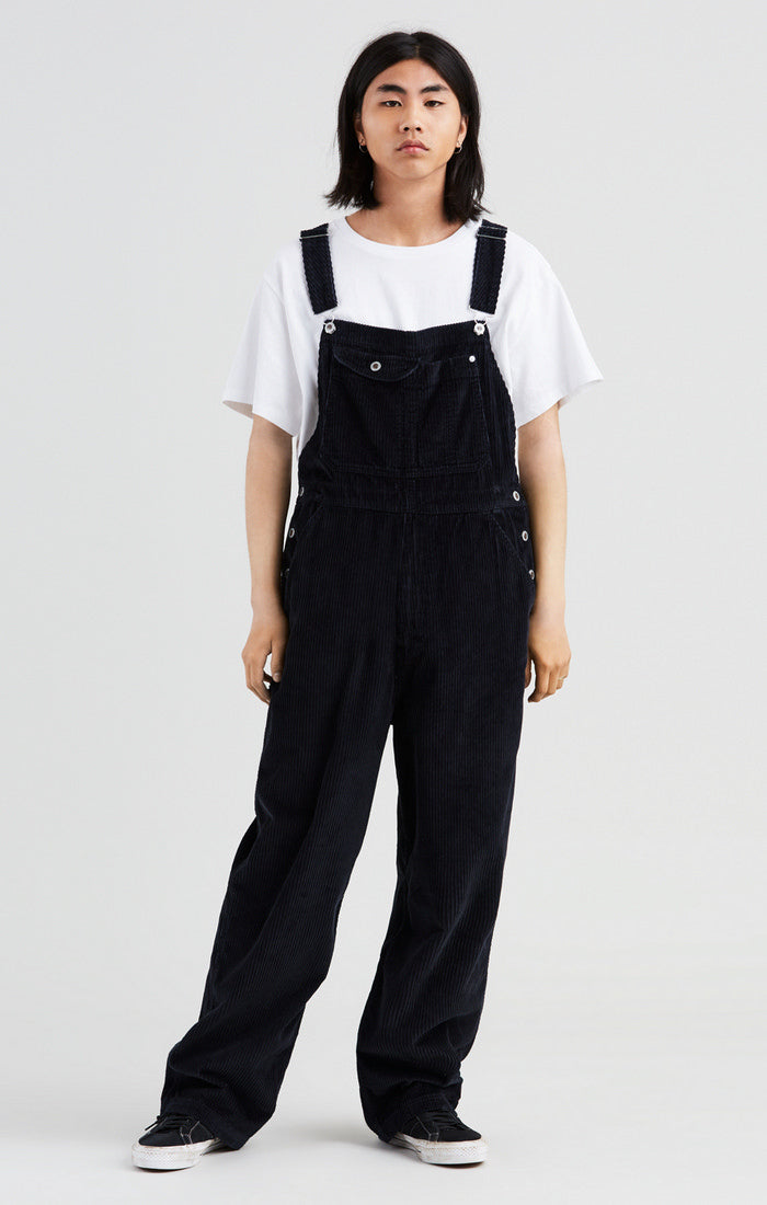 Levi's - Silvertab Corduroy Overalls - Mineral Black - Guys