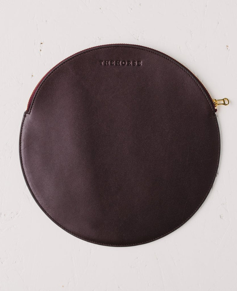 The Horse - Moon Clutch - Plum