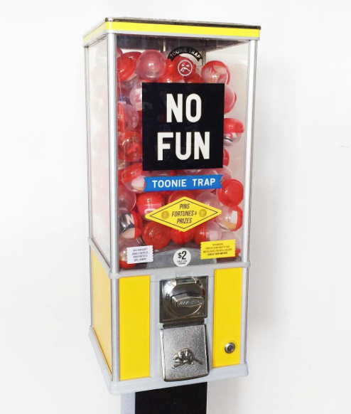 No Fun Press - Vending Machine Capsule