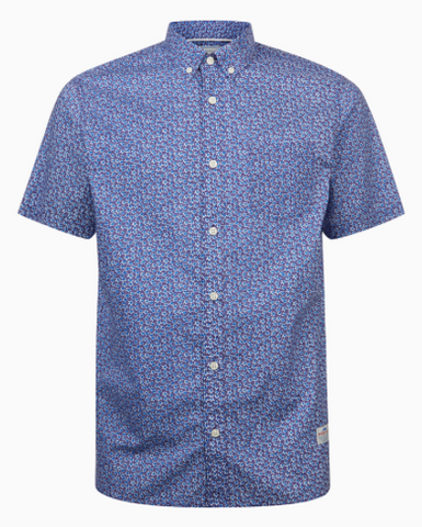 Penfield - Avoca Blue Ss Shirt - Guys