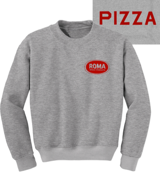 O's Clothes - ROMA Pizza - Crewneck Sweatshirt