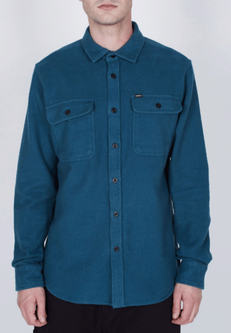 Obey - Outpost Shirt - Pine - Guys