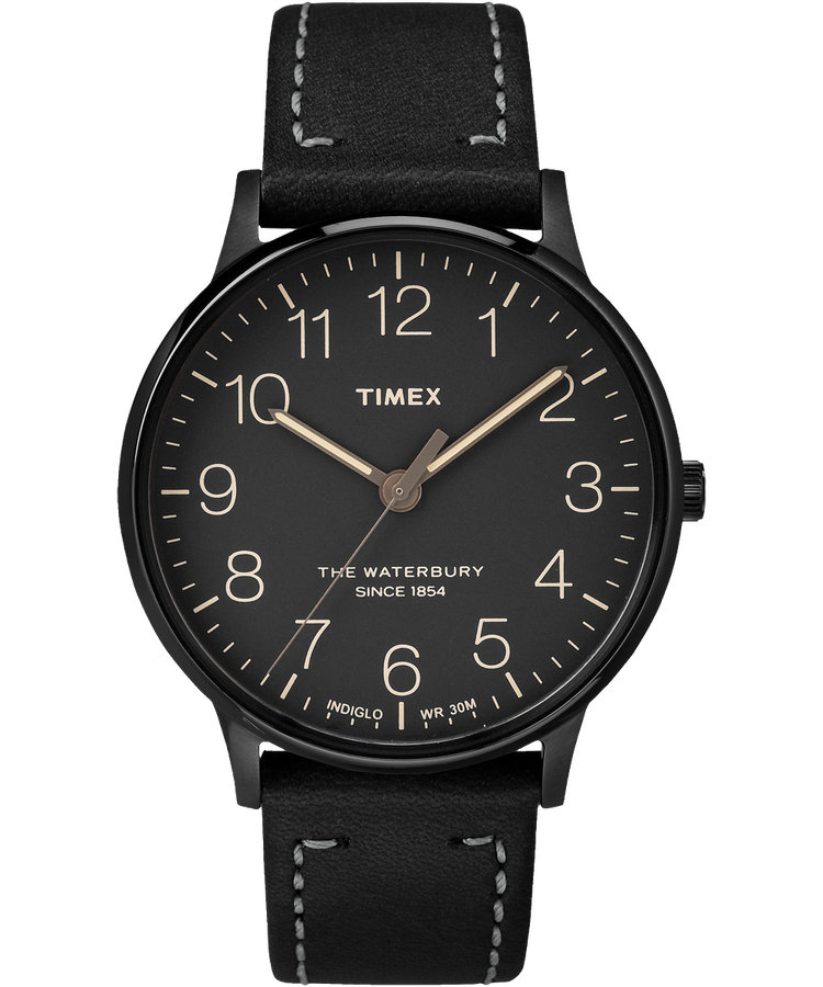 Timex - The Waterbury - Black - Watch