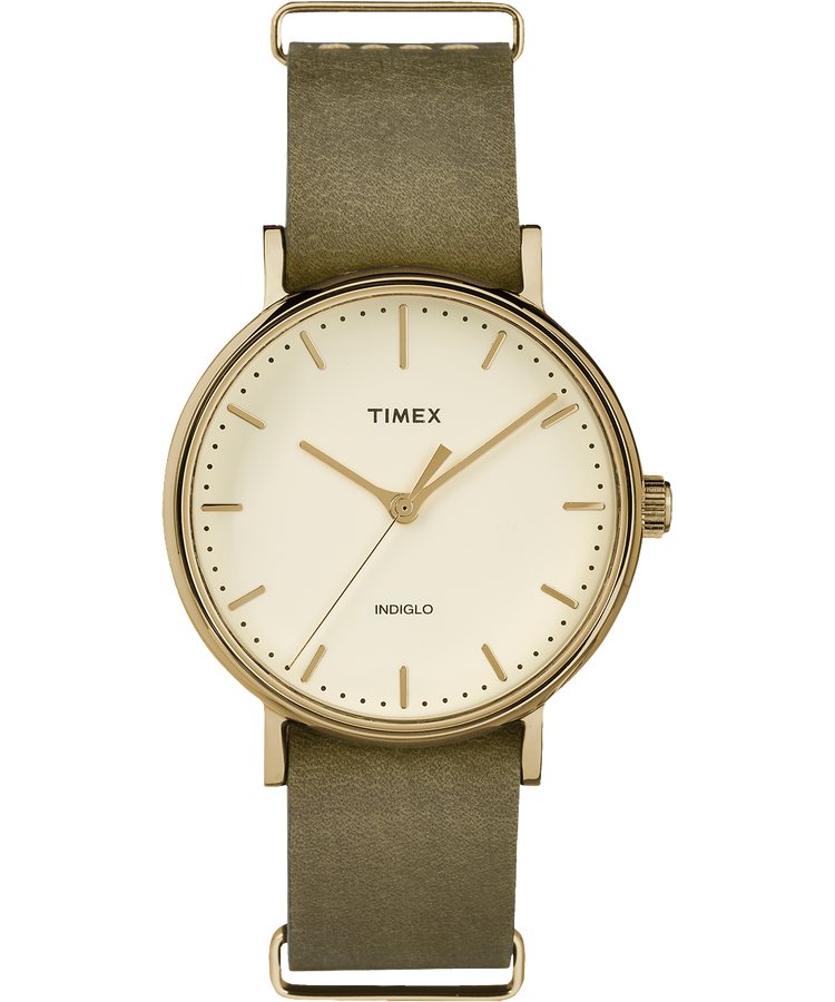 Timex - The Fairfield - Gold/Green/Cream - Watch