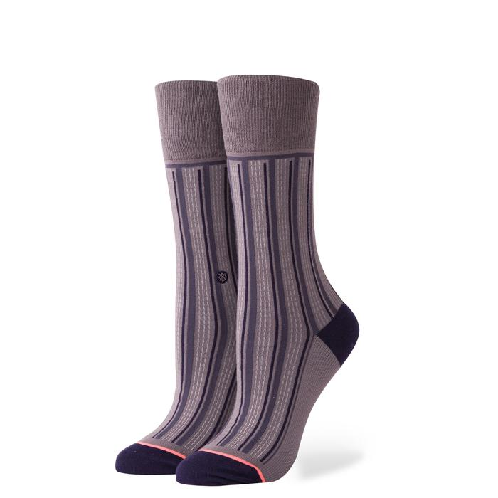 Stance - Everyday - Stripe Down - Charcoal - Socks - Gals