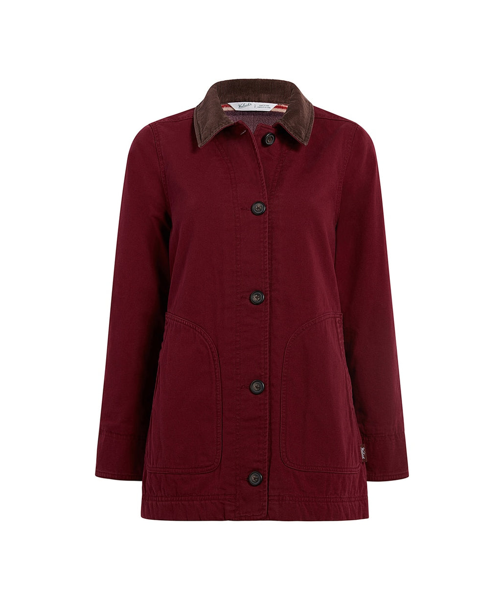 Woolrich - Dorrington Barn Jacket - Tamarind - Gals