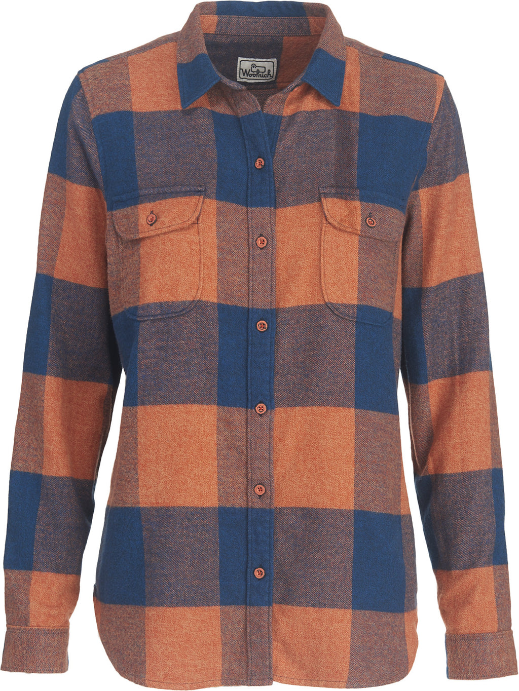 Woolrich - Twisted Rich Flannel - New Royal Blue Check - Gals