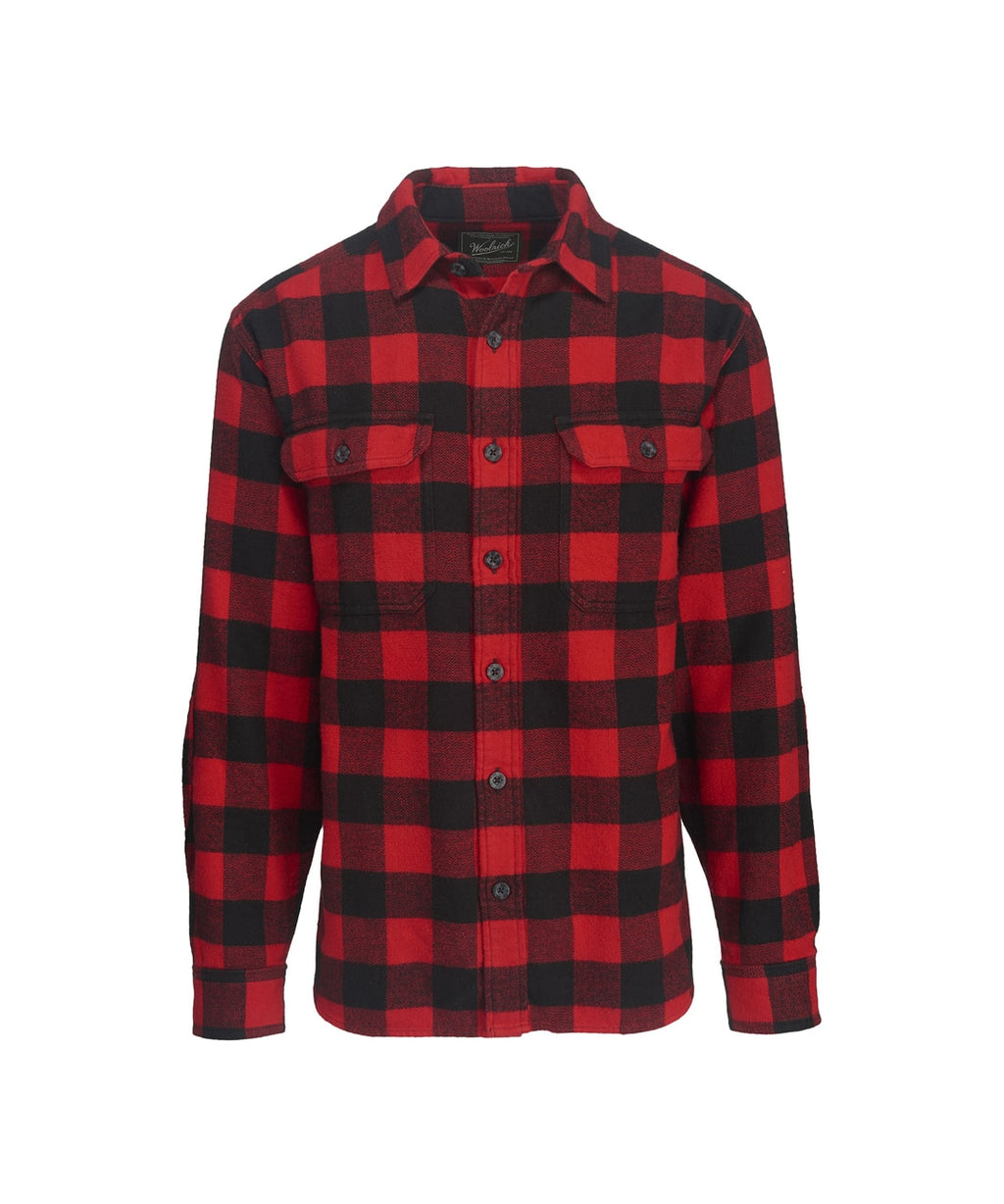 Woolrich - Oxbow Bend - Black/Red - Shirt - Guys