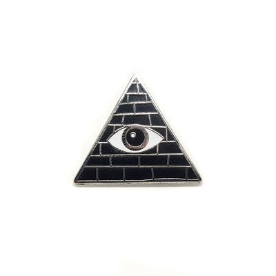 Really Man - All Seeing Eye Pin