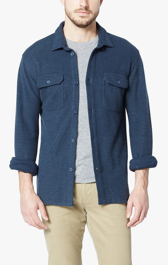 Levi's - Alpha Reverse Terry Jacket - Navy - Guyz