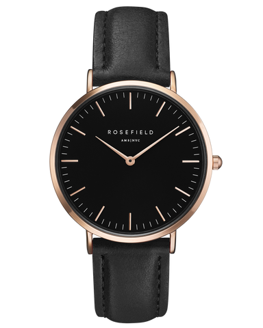 Rosefield - The Bowery - Black/Black - Watch