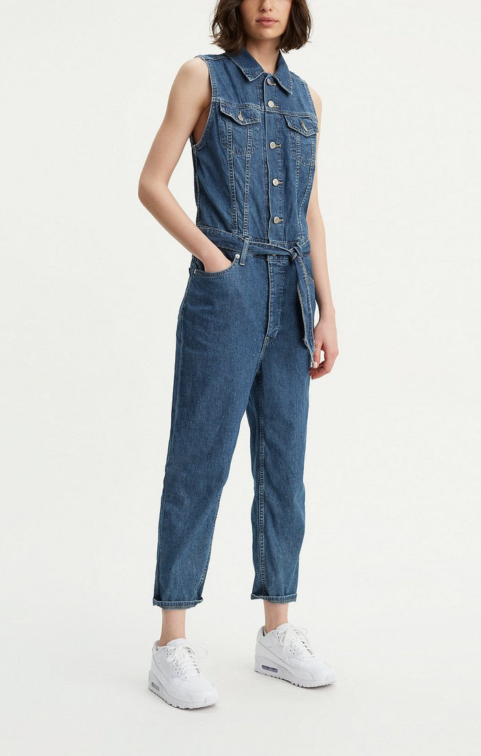 Levi's - Cropped Taper Jumpsuit - Gals