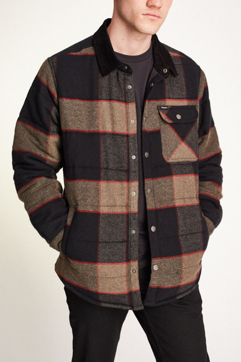 Brixton - Cass Jacket - Heather Grey / Charcoal - Guys
