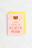 Valley Cruise Press - I Think You're The Cat's Meow - Enamel Pin + Greeting Card