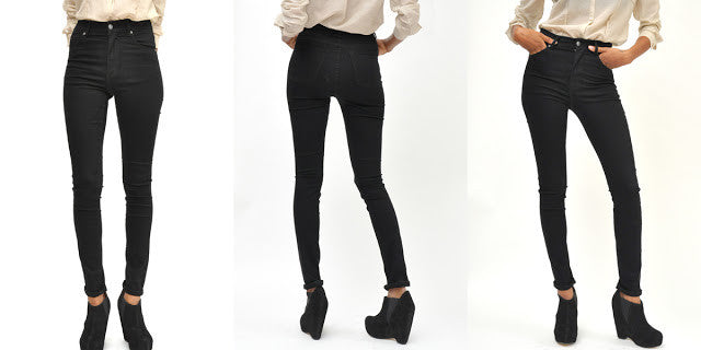 Cheap Monday Second Skin Jeans - Black - Gals