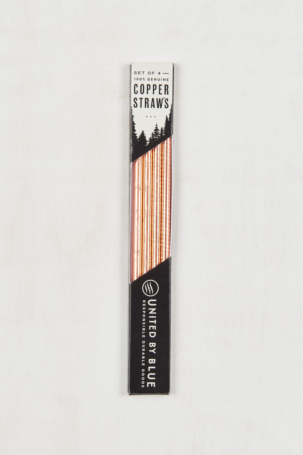 United By Blue - Copper Straws - Set of 4