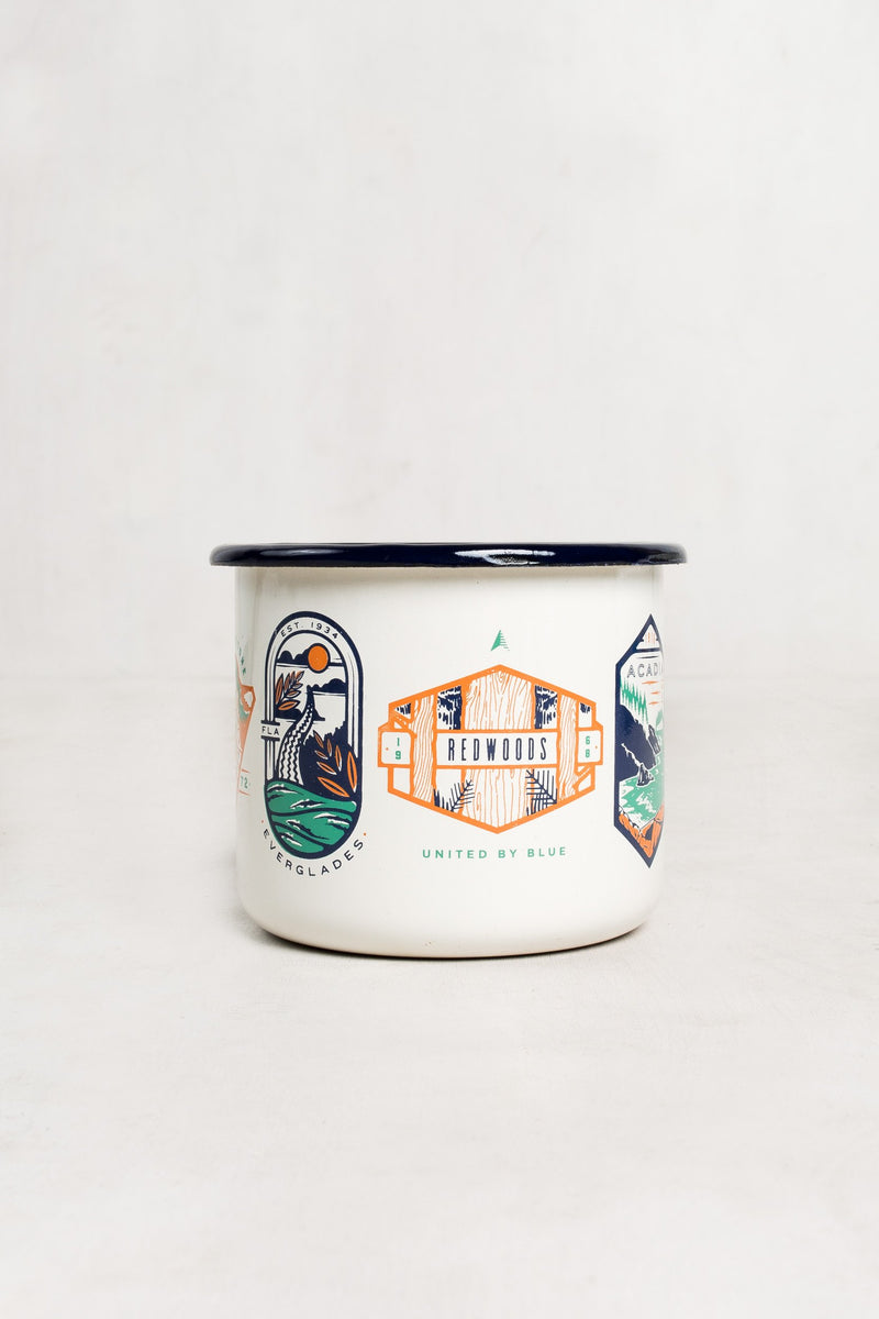 United By Blue - National Parks Enamel Steel Mug