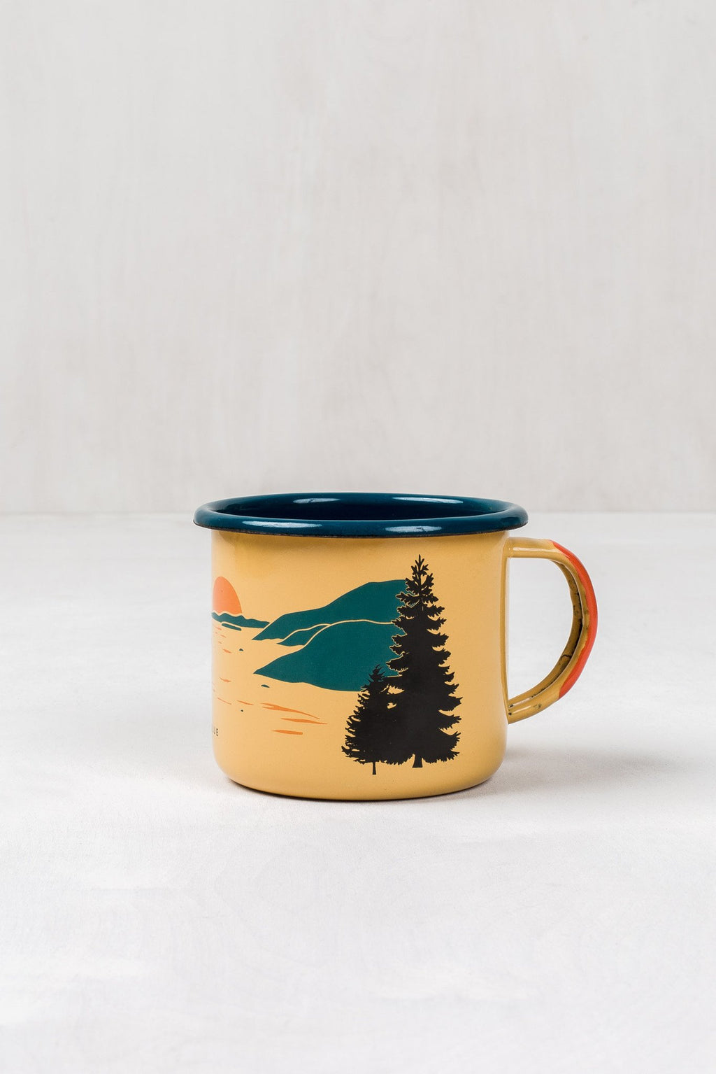 United By Blue - Inlet Enamel Mug