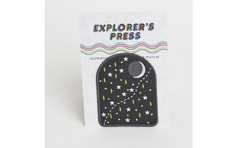 Explorer's Press - Over The Moon, patch