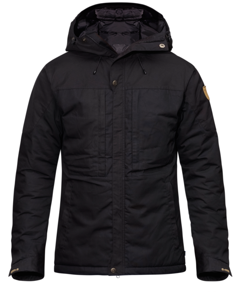 Fjallraven - Skogso Padded Winter Jacket - Black - Guys