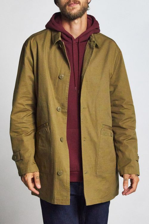 Brixton - Fairdays II Jacket - Washed Olive - Guyz