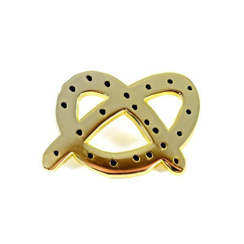 Valley Cruise Press - Golden Pretzel - Pin