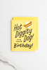 Valley Cruise Press - Hot Diggity Dog! It's Your Birthday! - Enamel Pin + Greeting Card