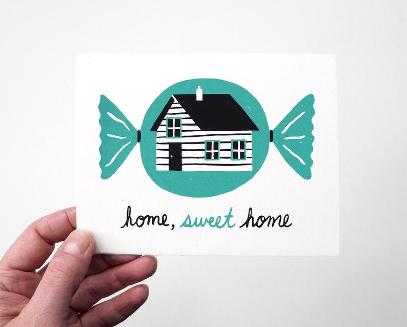 Gillian Wilson - Home Sweet Home - Card