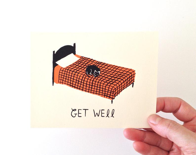 Gillian Wilson - Get Well - Card