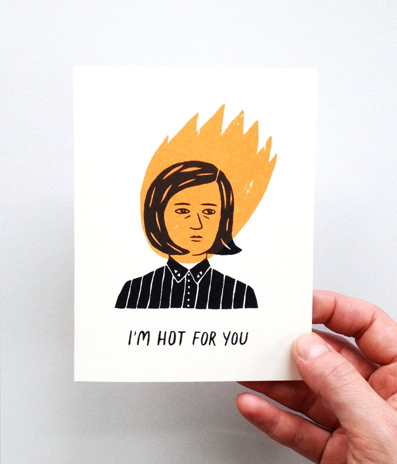 Gillian Wilson - I'm Hot For You - Card