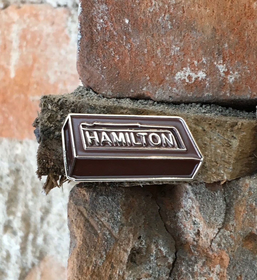 Gallagator - Hamilton Brick - Enamel Pin