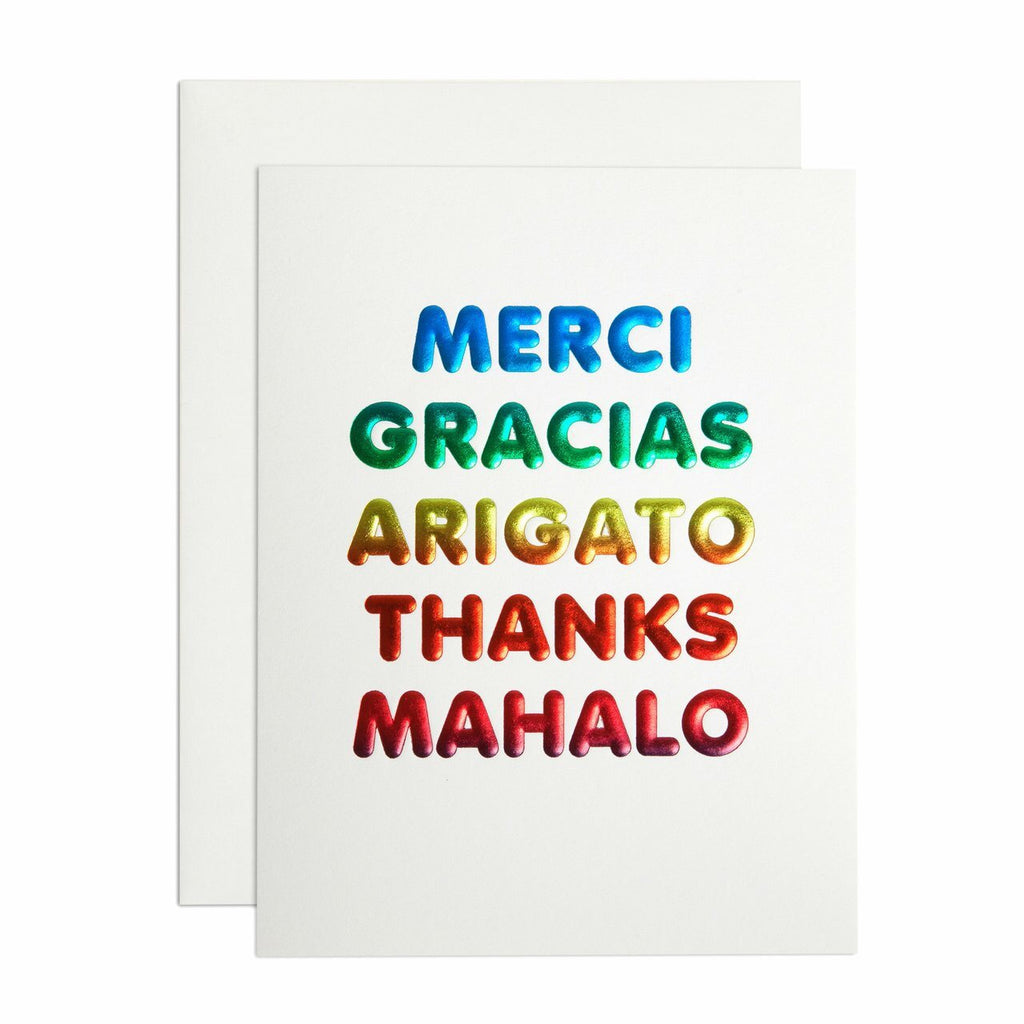 International Thank You - Greeting Card
