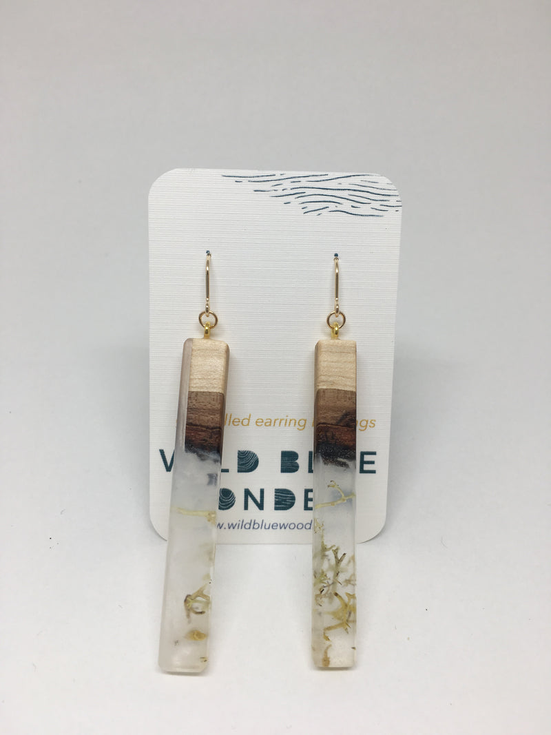 Wild Blue Yonder - Dangle Earrings