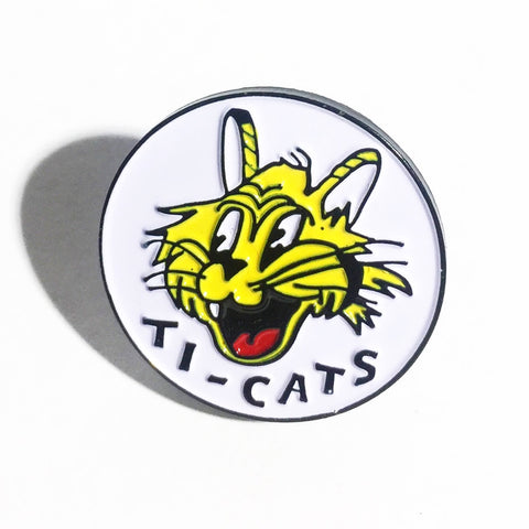 Kyle Stewart - Giant Ti-Cat - Enamel Pin
