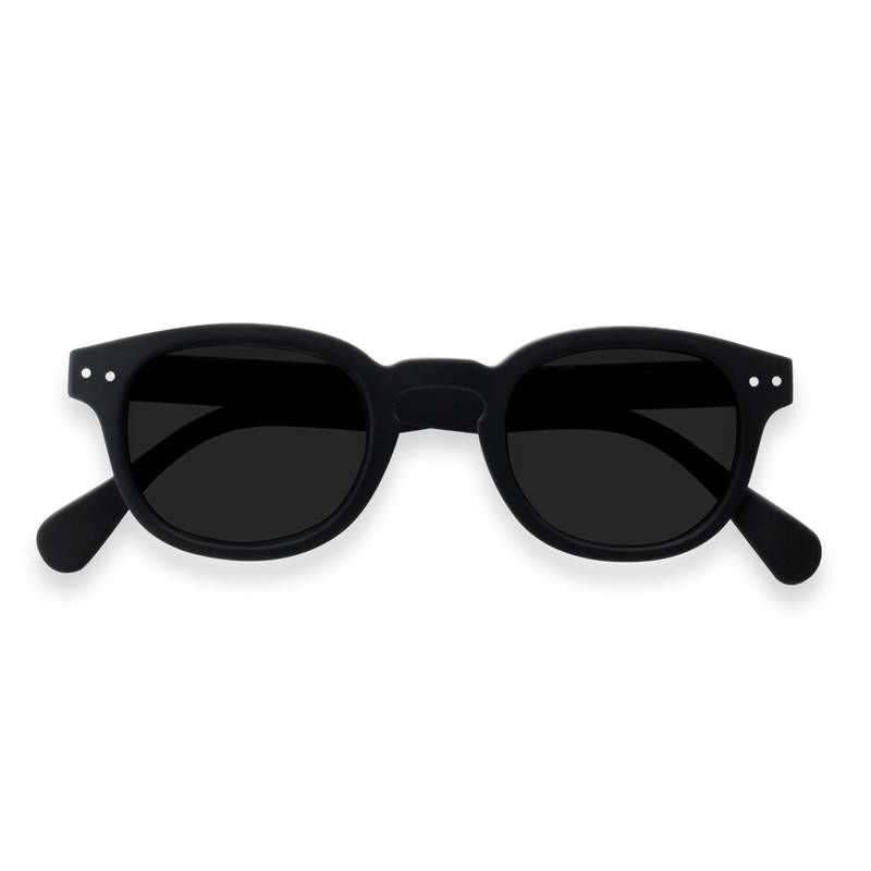 Izipizi - Sun - #C Black w/Grey Lenses