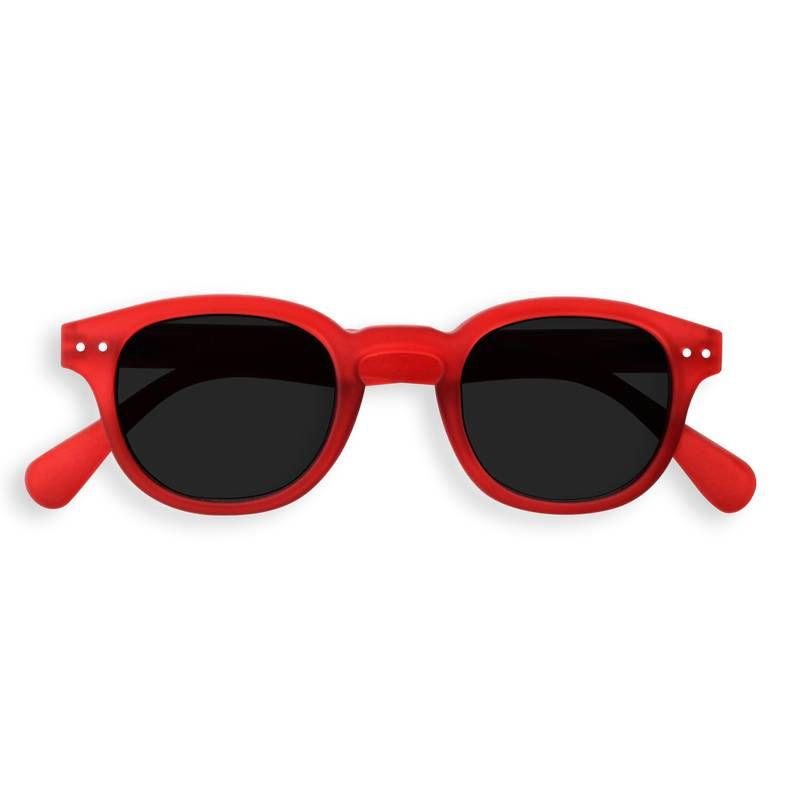 Izipizi - Sun - #C Red Crystal Soft w/Grey Lenses