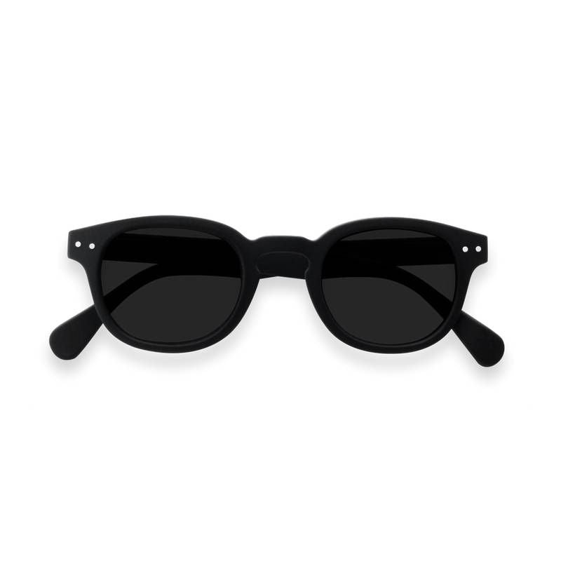 Izipizi - Sun Junior - #C Black w/ Grey Lenses