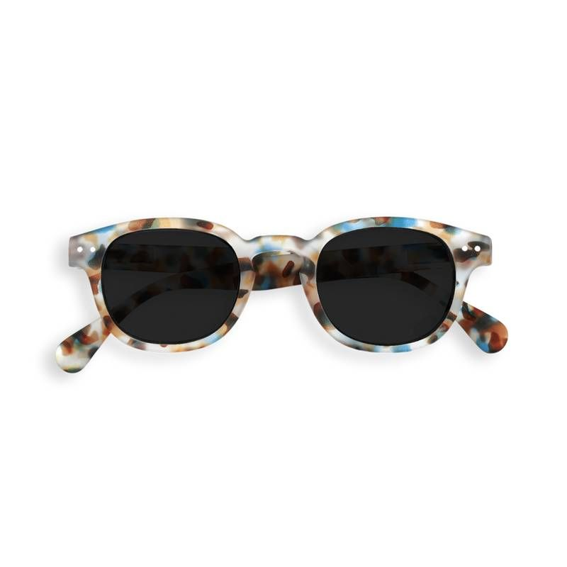 Izipizi - Sun Junior - #C Blue Tortoise w/ Grey Lenses