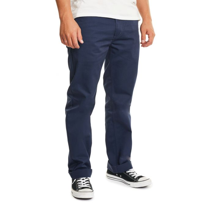 Brixton - Labor Chino Pant - Washed Navy - Guyz