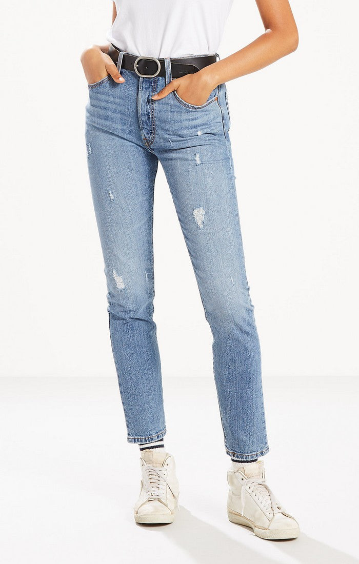 d3e670a2 Levi's - 501 W Skinny Jeans - Leave A Trace - Gals – O's Clothes