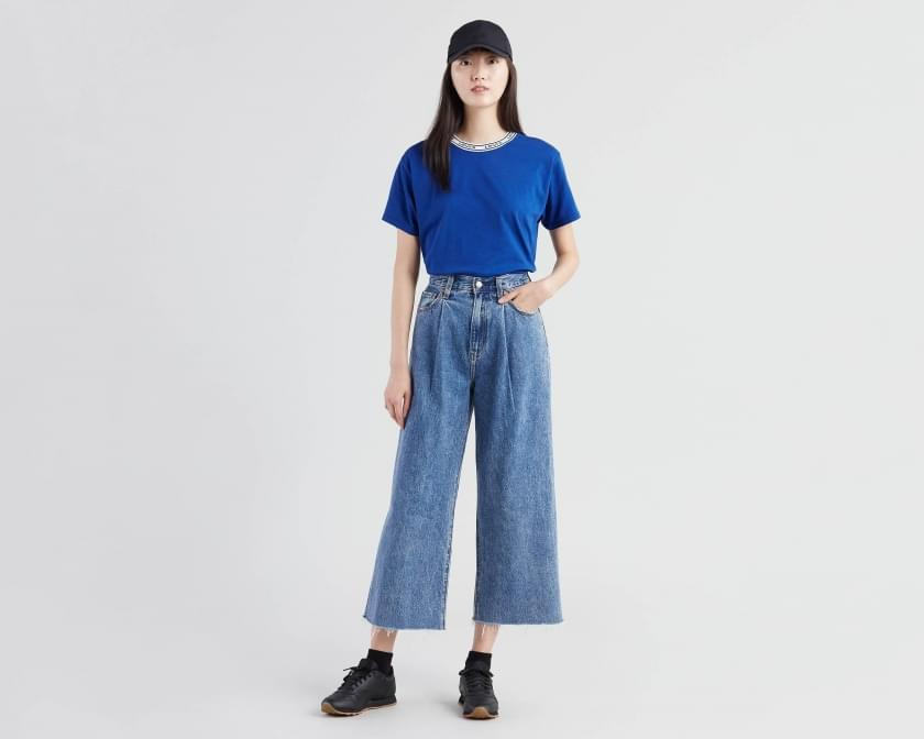 Levi's - Rib Cage -  Jeans  - Pleated Now and Then - Gals