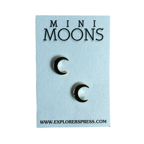 Explorer's Press 'Mini Moons' Pin Set