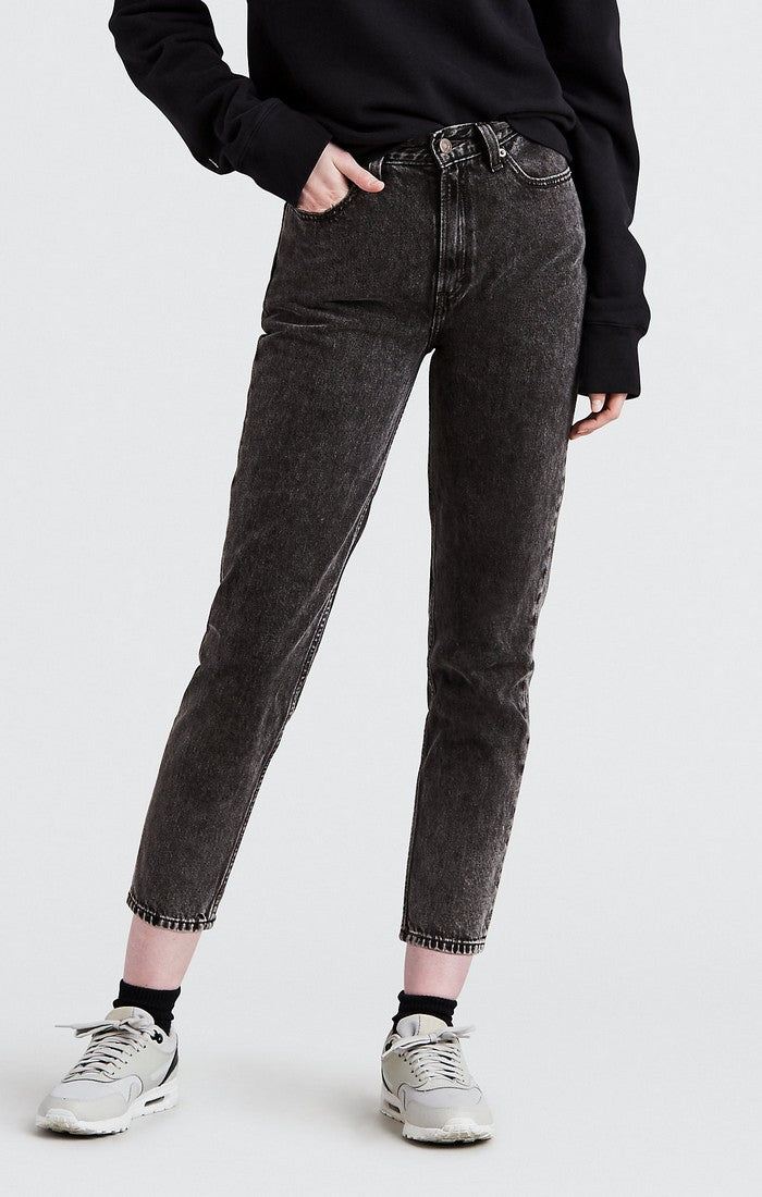 Levi's - Mom Jean - Brenda (Faded Black) - Gals