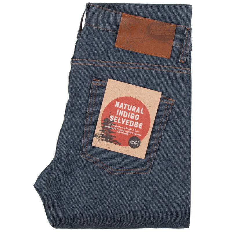 Naked & Famous - Skinny Guy - Natural Indigo Selvege - Guys